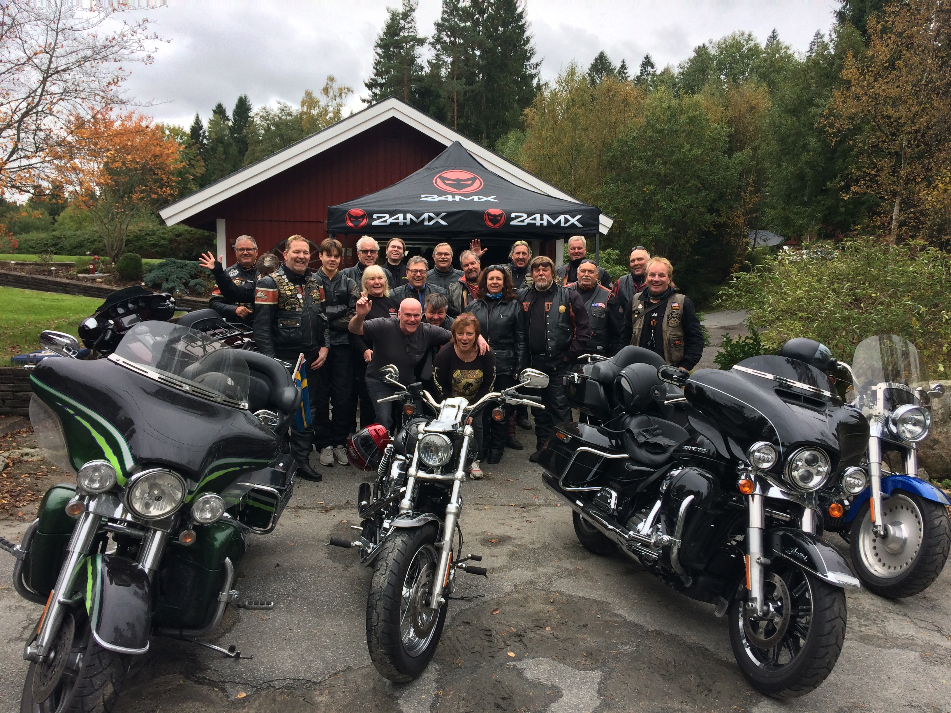End of season run med Goteborg Chapter Sweden